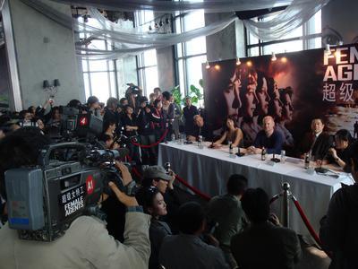 Blockbuster release for Les Femmes de l'ombre in China
