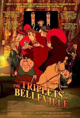 Les Triplettes de Belleville / ベルヴィル・ランデブー - Poster - USA