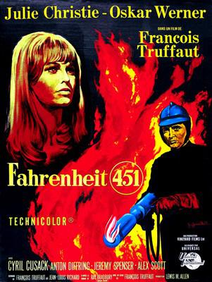 Fahrenheit 451 - Poster France