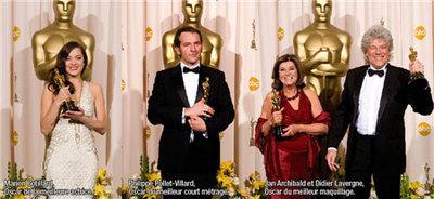 Marion Cotillard se lleva el Oscar