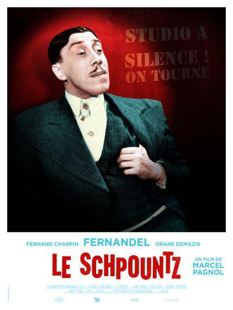 Le Schpountz - Poster France rééidition 2016