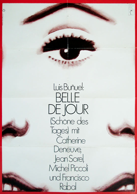 Bella de día - Poster Allemagne