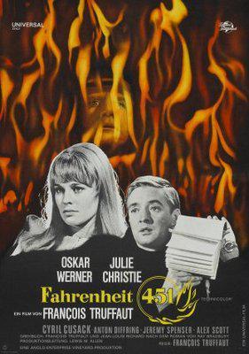 Fahrenheit 451 - Poster Allemagne