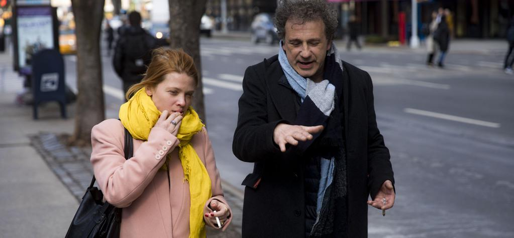 Mélanie Thierry y Emmanuel Finkiel en Nueva York - © Thomas Brunot
