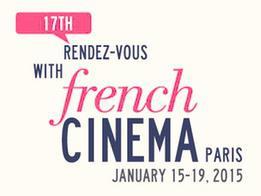 Unifrance organiza del 15 al 19  de enero de 2015 el 17º Rendez-Vous du cinéma français (Encuentro de cine francés) en París