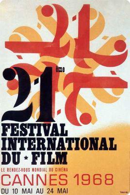 Festival Internacional de Cine de Cannes - 1968