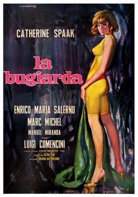 Le Partage de Catherine (Une fille qui mène une vie de garçon) - Poster Italie