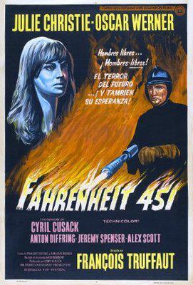 Fahrenheit 451 - Poster Argentine