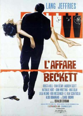 The Beckett Affair - Poster - Italy