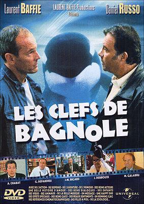 Les Clefs de bagnole - Poster DVD France