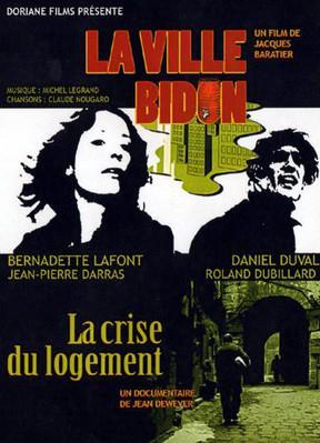 La Ville bidon (La Décharge) - Jaquette DVD France