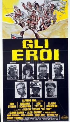 Los héroes millonarios - Poster - Italy