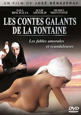 Les Contes galants de Jean de la Fontaine - Jaquette DVD France