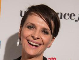 Juliette Binoche, guest of honor at the Morelia International Film Festival