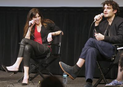 Rendez-Vous With French Cinema à New York - 2016 - Talk with Maiwenn et Louis Garrel