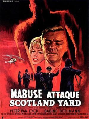 Scotland Yard traque Dr. Mabuse