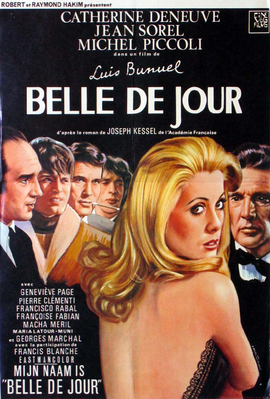 Bella de día - Poster Belgique