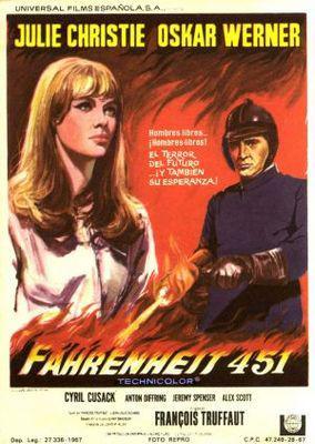 Fahrenheit 451 - Poster Espagne