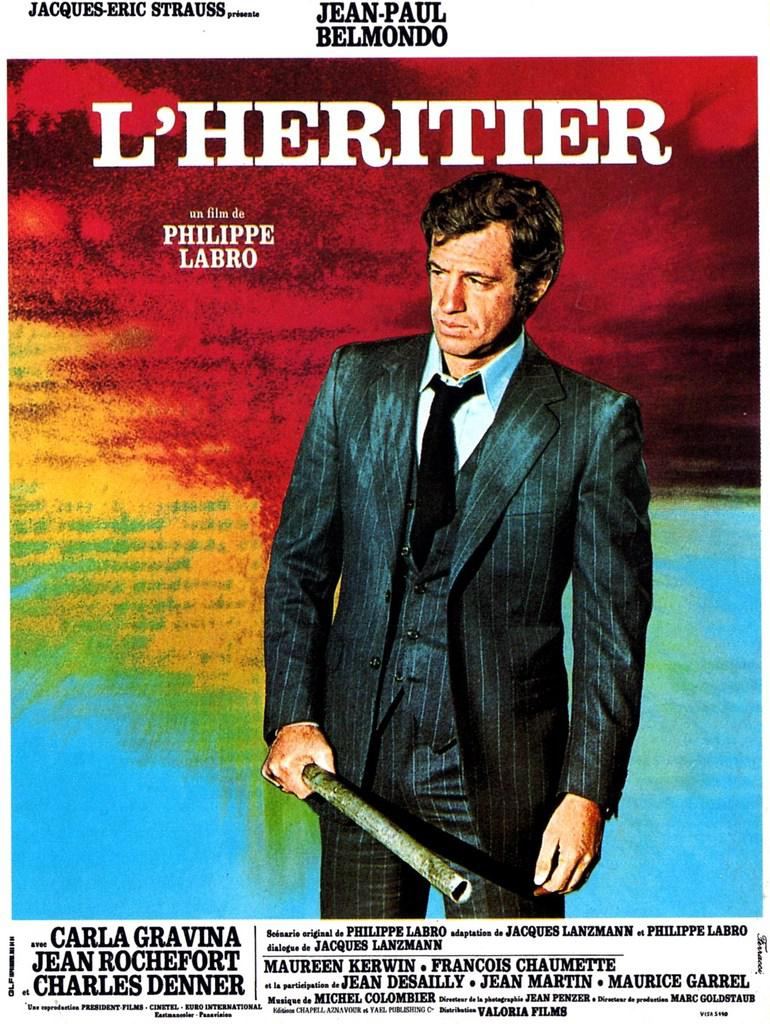 The Inheritor / The Exterminator - Poster France
