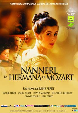Nannerl, la sœur de Mozart - Poster - Chili