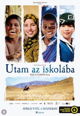 Sur le chemin de l'école - Poster - Hungary