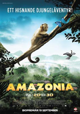 Amazonia - Poster - Sweden