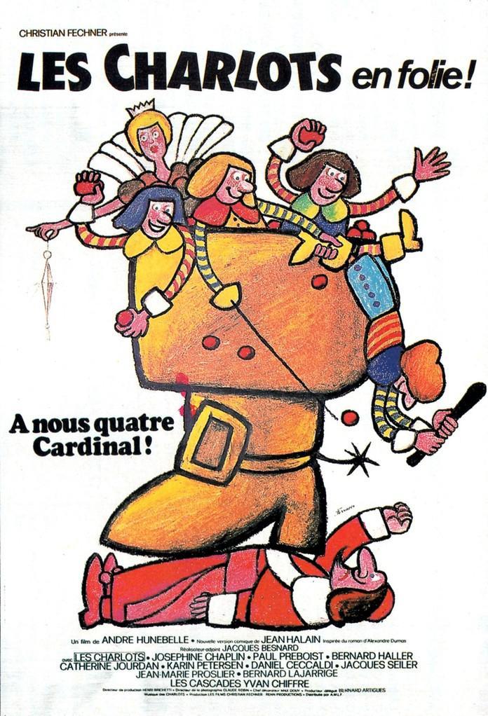 Les Charlots en folie : À nous quatre, cardinal !
