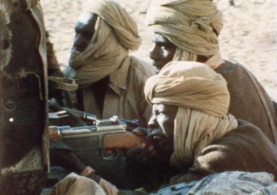 Les Révolutionnaires du Tchad - © Raymond Depardon/Magnum Photos