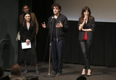 Rendez-Vous With French Cinema en Nueva York - 2016 - Talk with Maiwenn et Louis Garrel