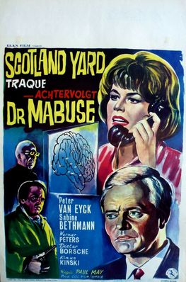 Scotland Yard in Pursuit of Dr. Mabuse - Belgium
