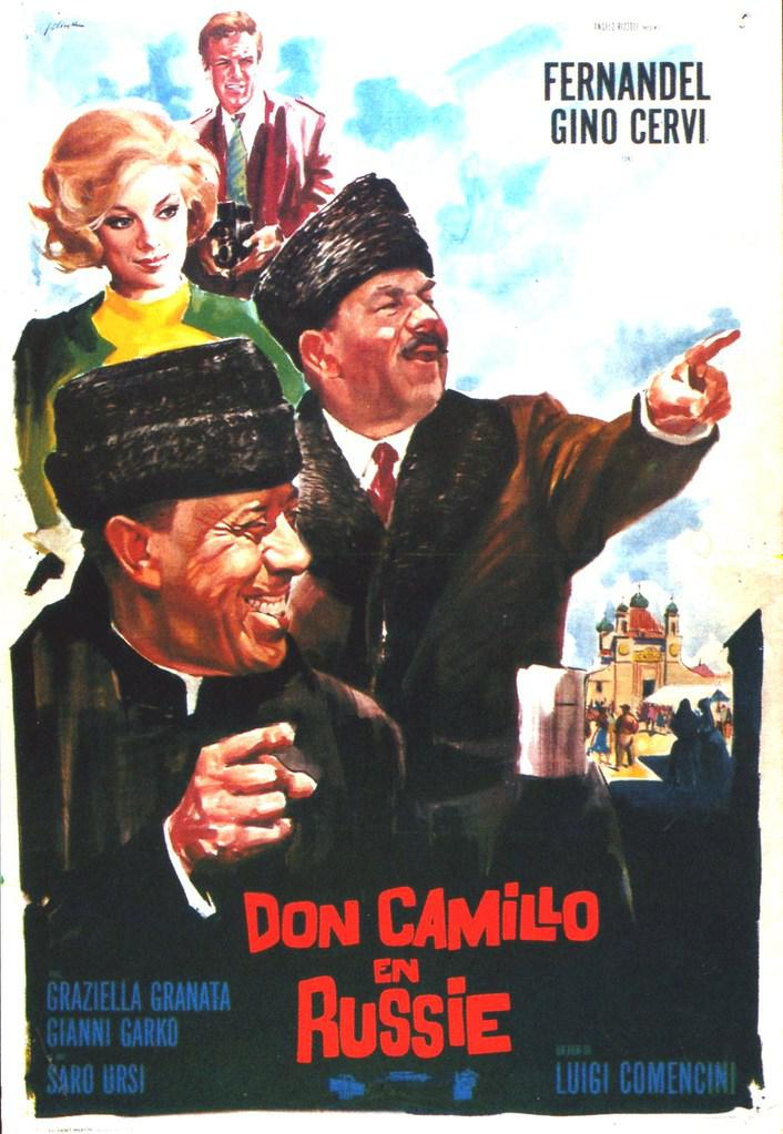 Gino cervi unifrance films for Don camillo a paris