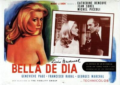 Bella de día - Poster Espagne