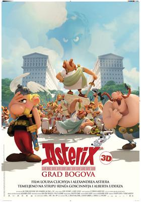 Astérix - Le Domaine des dieux - Poster - Croatia