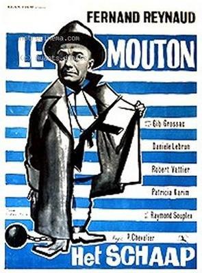 Le Mouton - Affiche belge