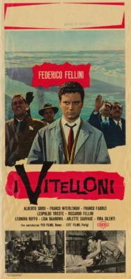 Les Vitelloni (Les Inutiles) - Poster Italie