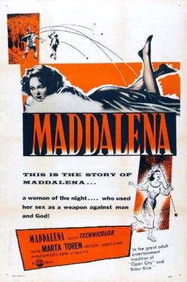 Magdalena - Poster Etats-Unis