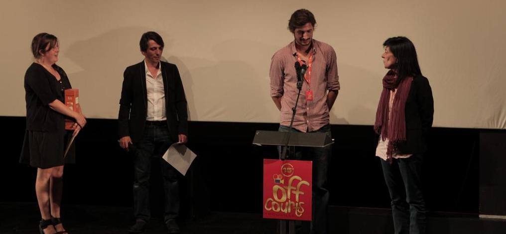 UniFrance hace entrega de un premio en el Festival de Trouville
