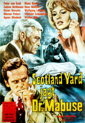 Scotland Yard in Pursuit of Dr. Mabuse - Germany
