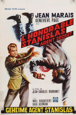 L'Honorable Stanislas, agent secret - Poster Belgique
