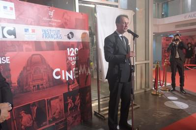 Inauguration of a digital theater at the Alliance Française in Bangkok