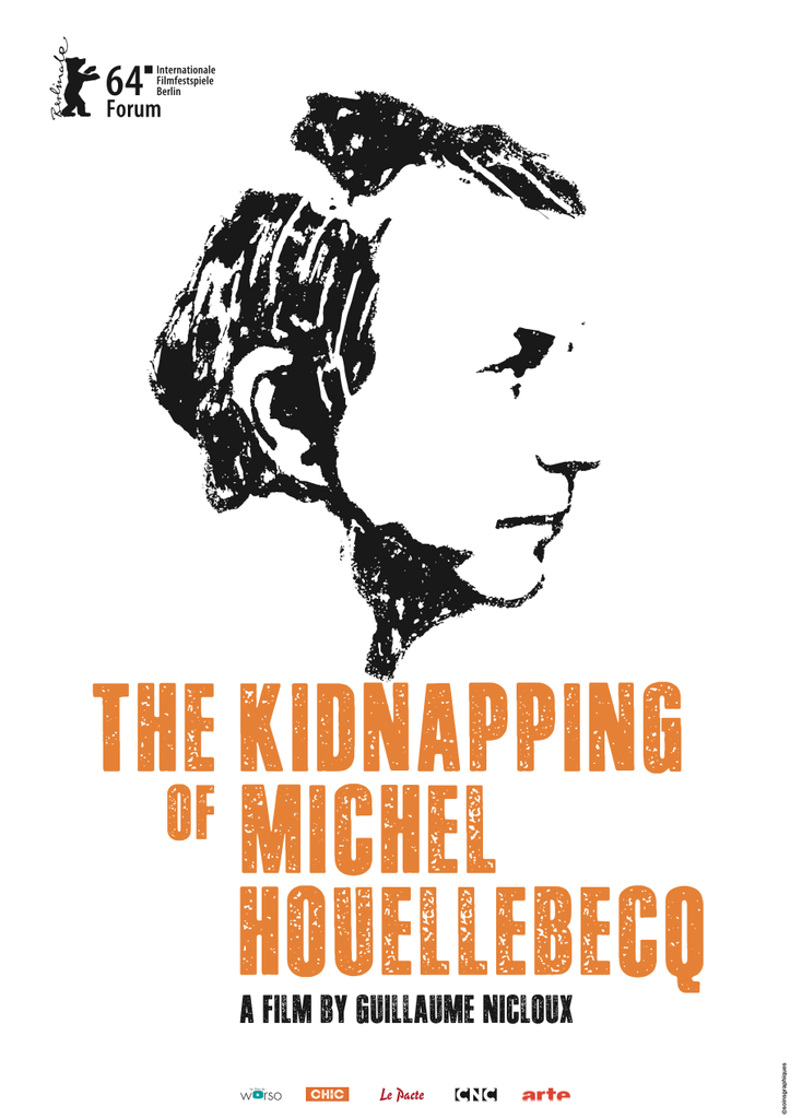 The Kidnapping of Michel Houellebecq - Poster anglais international