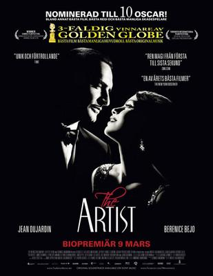 The Artist - Poster - Sweden