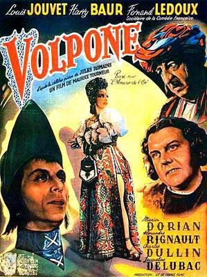 Volpone - Poster Belgique
