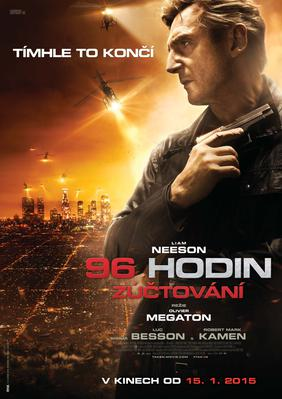 Taken 3 - Poster - Czech Republic