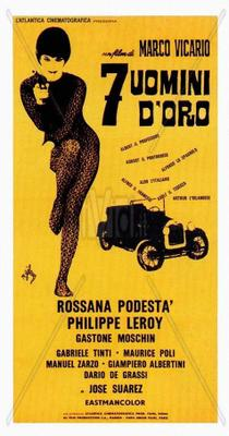 7 hommes en or - Poster - Italy