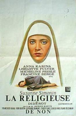 La Religieuse - Poster Belgique