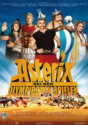 Asterix at the Olympic Games - Affiche - Allemagne