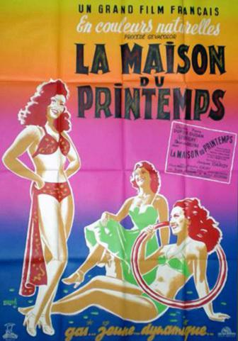 la maison du printemps 1950 unifrance films. Black Bedroom Furniture Sets. Home Design Ideas