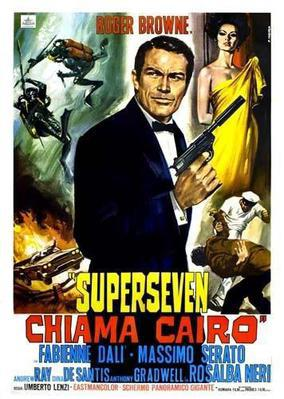 Super Seven Calling Cairo - Poster - Italy