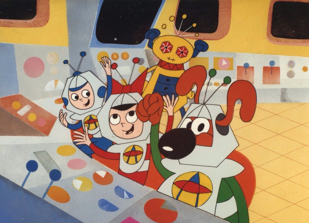 Little Orbit the Astrodog and the Screechers from Outer Space